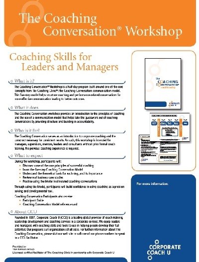 coaching skills for managers and supervisors pdf